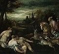 Jacopo Bassano - Diana and Actaeon - 1939.2239 - Art Institute of Chicago.jpg