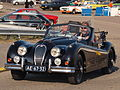 Jaguar XK 140 dutch licence registration AE-67-32 pic3.JPG
