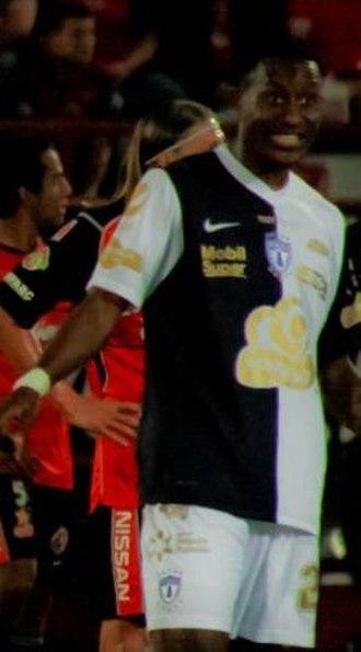 Jaime Ayoví - Ayoví while playing for Pachuca