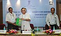 Jairam Ramesh releasing the Ecological Sanitation Practitioners Handbook, at a Workshop of State Secretaries in charge of Sanitation and Rural Water Supply, in New Delhi on September 26, 2011.jpg