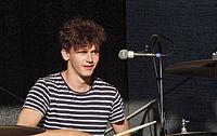 Jakob Sudau (Tonbandgerät) (Rio-Reiser-Fest Unna 2013) IMGP8055 smial wp.jpg