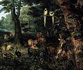 Jan Breughel (II) - Paradise (detail) - WGA03608.jpg