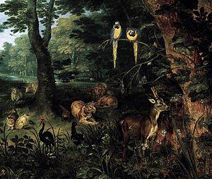 Jan Breughel (II) - Paradise (detail) - WGA03608