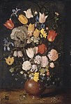Jan Brueghel, the elder - Bouquet of Flowers in an Earthenware Vase - 1948.570 - Art Institute of Chicago.jpg