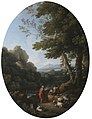 Jan Frans van Bloemen (1662-1749) - A Classical Landscape with Two Shepherds and Sheep - 608999 - National Trust.jpg
