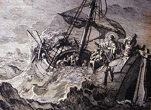 Jan Luyken's Jesus 9. The Storm at Sea. Phillip Medhurst Collection.jpg