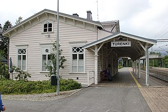 Turenki - The Turenki railway station is the oldest of its kind in all of Finland.