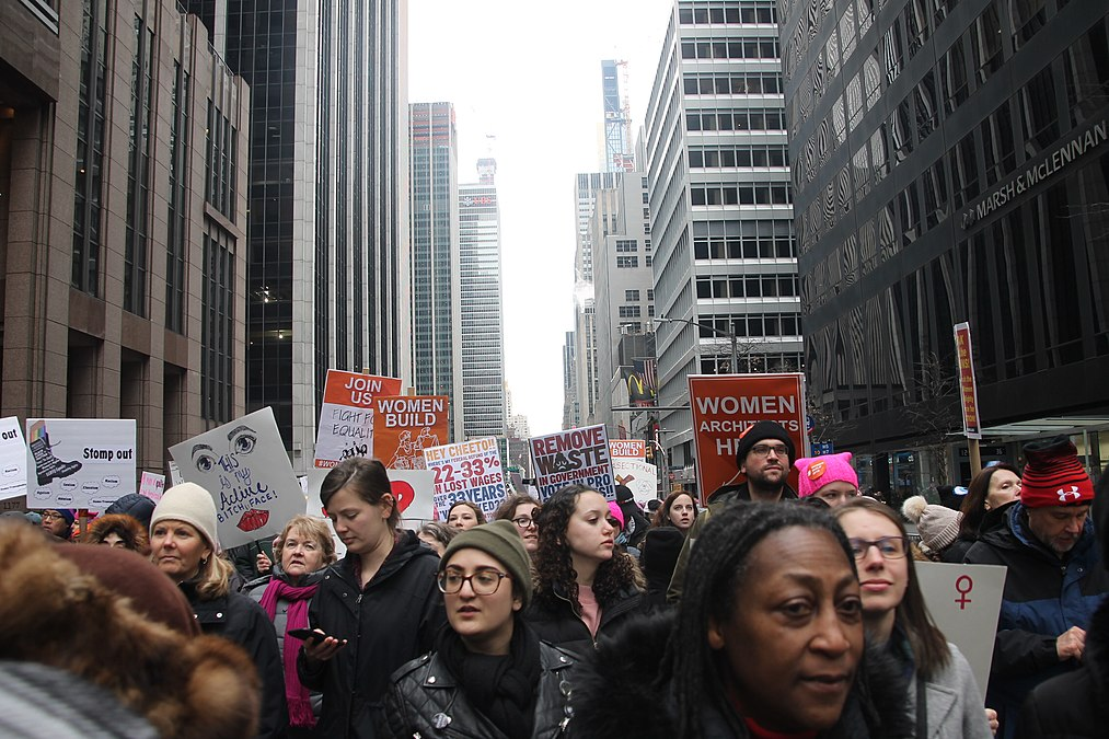 January 2019 Women's Alliance march in NYC (31864606467).jpg