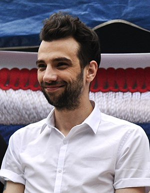 Jay Baruchel - Baruchel at Joint Base McGuire–Dix–Lakehurst, 2014