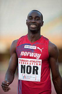 Jaysuma Saidy Ndure Gambian-Norwegian athlete