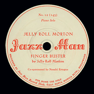 Jazz Man Records - Finger Buster by Jelly Roll Morton (1942)