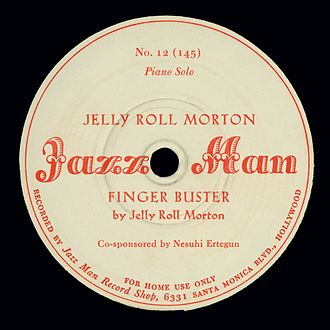 Nesuhi Ertegun - Ertegun's first credit on a record appeared in December 1942 on Jazz Man Records, a label he later purchased