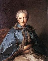 Portrait of the countess de Tillières