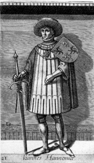 John II, Count of Holland Count of Hainaut and Count of Holland and Zeeland