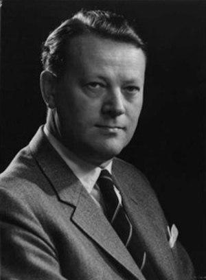 Danish general election, 1964 - Image: Jens Otto Krag 01