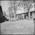 Jerome Relocation Center, Denson, Arkansas. A street scene on an uneventful afternoon in Block 7. - NARA - 538841.jpg