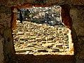 Jerozolima, 23 X 2007 r., cmentarz żydowski na stoku Góry Oliwnej..JPG