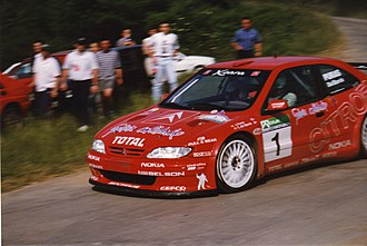 Citroën World Rally Team - Citroën Xsara Kit car at the 1998 Rallye Cantabria