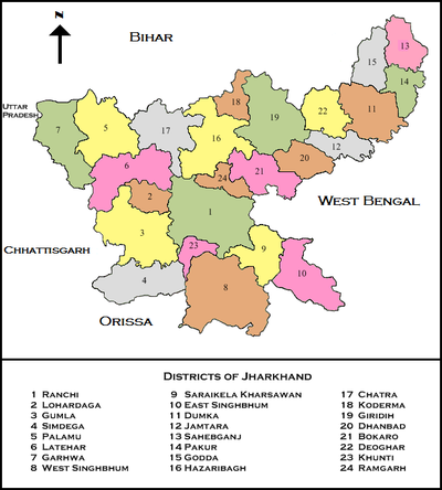 Jharkhanddistricts