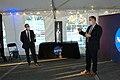 Jim Bridenstine and Rick Gilbrech at event follow SLS Green Run Test.jpg