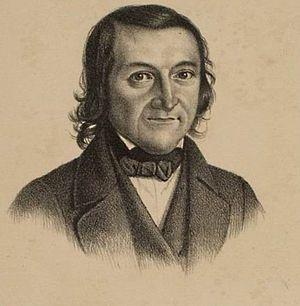 Johann Christian Felix Baehr - Johann Christian Felix Baehr (lithograph, 1843)