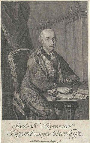 Johann Friedrich von Cronegk - Johann Friedrich von Cronegk.