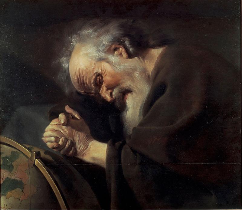 Héraclite, sophiste en peinture