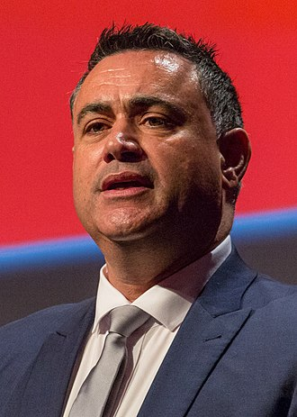 Deputy Premier of New South Wales - Image: John Barilaro 2016