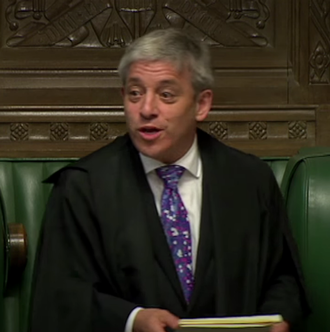 John Bercow - Bercow presides over the House, 2012