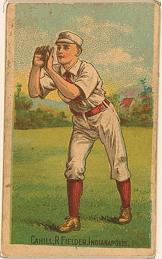 1887 Indianapolis Hoosiers season - John Cahill, an offseason acquisition from the St. Louis Maroons.