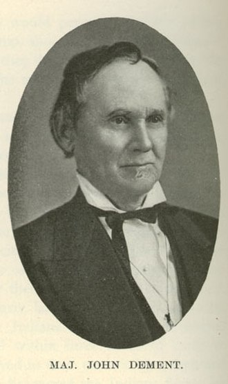 Battle of Kellogg's Grove - Major John Dement commanded forces during the battle and suffered five killed in action.