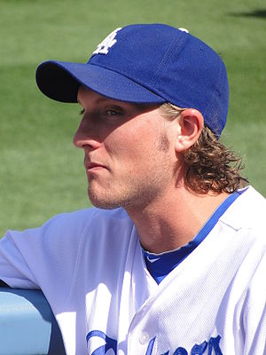 John Ely (baseball) - Ely with the Los Angeles Dodgers
