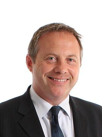 Retford - Retford's current MP, John Mann