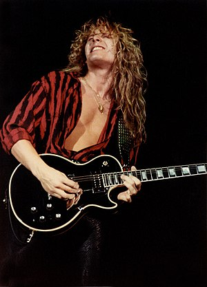 John Sykes - Sykes performing with Whitesnake in 1984