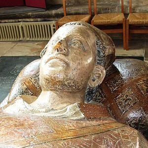 John Droxford - Effigy of John Droxford in Wells Cathedral