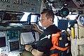 Johnson in the Shuttle Atlantis Flight Deck (28072384252).jpg