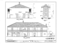 Jose Amesti Casa, 516 Polk Street, Monterey, Monterey County, CA HABS CAL,27-MONT,20- (sheet 6 of 10).png