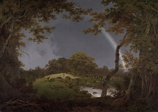 Joseph Wright of Derby - Landscape with a Rainbow - B2014.19 - Yale Center for British Art