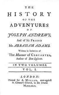Joseph Andrews cover