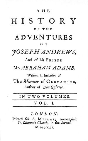 Joseph Andrews cover