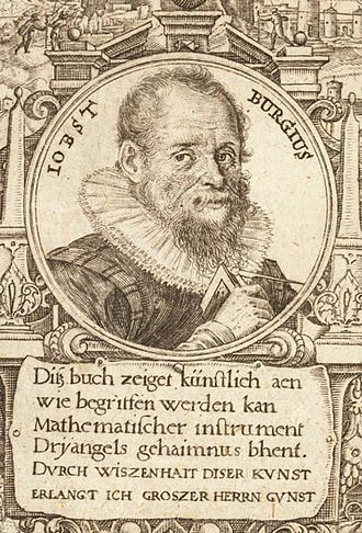 Jost Bürgi - Jobst Burgius