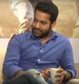 Jr. NTR at Interview for Aravinda Sametha.png