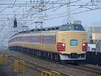 Sazanami (train) - Image: Jr 183 snjsazanami skw kiw