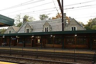 Jenkintown–Wyncote station - Image: Jtown station