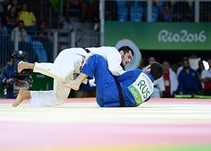 Judo at the 2016 Summer Olympics, Gasimov vs Khaibulaev 8.jpg