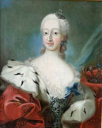 Juliana Maria of Brunswick-Wolfenbüttel - Juliane Marie portrayed in her official role as queen wearing the  Ordre de l'Union Parfaite