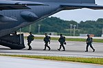 Jumps and Chutes- 736th SFS conduct airborne training (9606066973).jpg