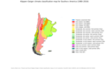 Köppen–Geiger climate classification map for Southern America.png