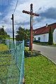 Kříž u odbočky k hřišti, Okrouhlá, okres Blansko.jpg