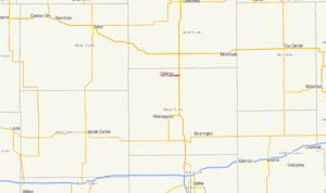 K-41 (Kansas highway) - Image: K 41 map